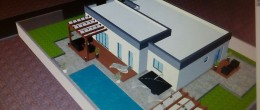 Murvica, house / swimming pool